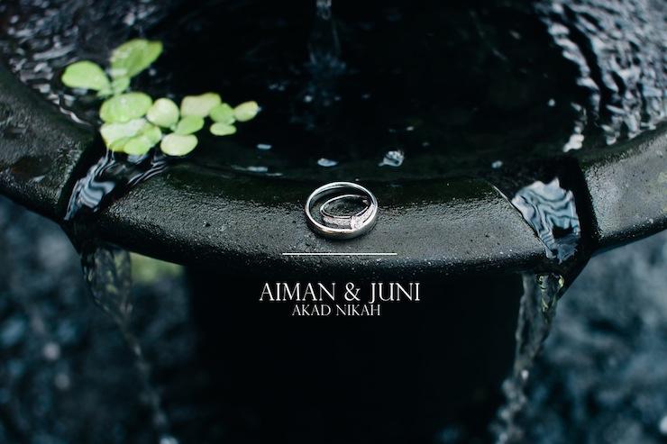 aiman & juni / akad nikah