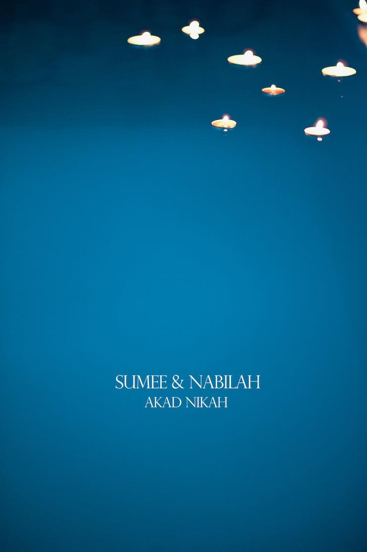 sumee & nabilah / akad nikah
