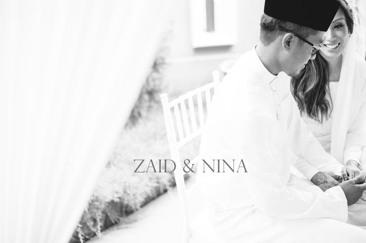 Zaid & Nina / Akad Nikah